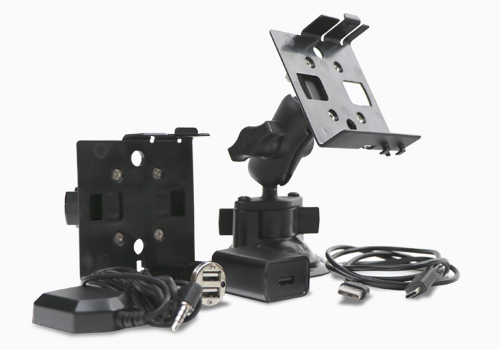 D3 RAM suction mount and 3-1/8 panel hole pinch mount