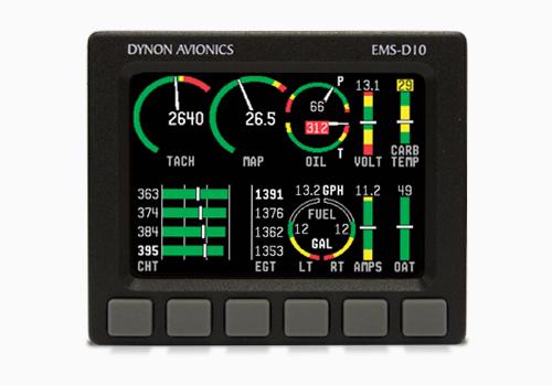 Dynon Avionics | Engine Monitoring System | EMS-D10