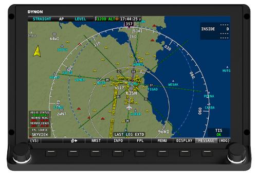 Dynon Avionics | GPS Navigation Mapping
