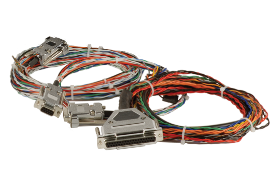 Prefabricated cables interconnect SkyView Network components to make sure your installation goes as smoothly as possible.