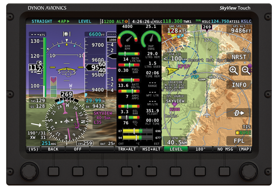 Dynon Avionics Skyview System And Components