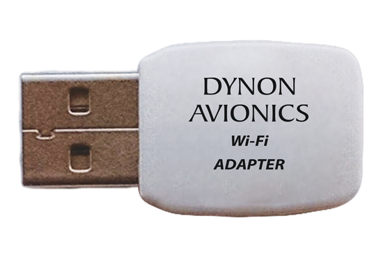 Connect SkyView to your mobile devices via the Wi-Fi Adapter